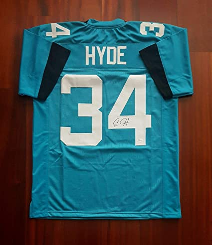 size 40 6405f 3dacd Autographed Carlos Hyde Jersey - JSA Certified - Autographed ...