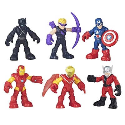 Playskool Heroes Super Hero Adventures Captain America Super Jungle Squad: Toys & Games