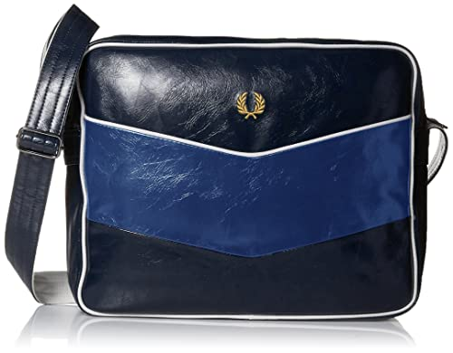 Fred Perry Chevron Bags Navy Blue - One Size  Amazon.co.uk  Shoes   Bags ab510f6c9c42f