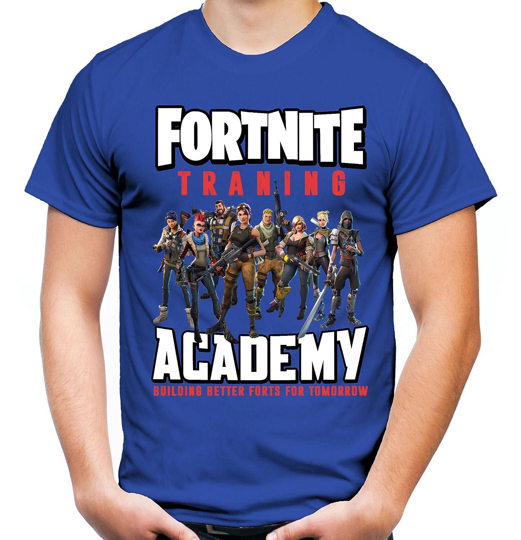Fortnite Männer und Herren T-Shirt | Spiel Gaming Battle Royale ||| M2