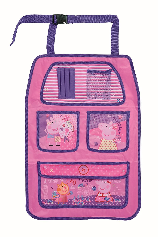 Peppa Pig Kids Car Back Seat Organiser & Storage Bag 8718591722868