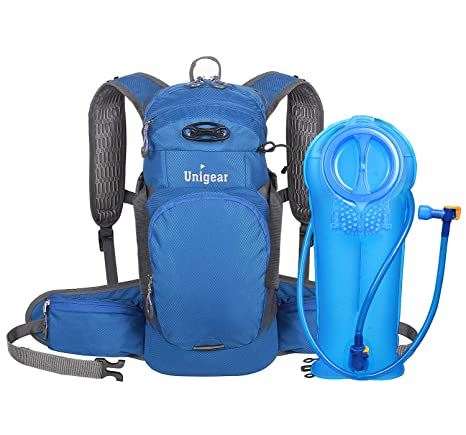 Unigear Hydration Packs Backpack with 2L TPU Water Bladder Reservoir, Thermal Insulation Pack Keeps Liquid