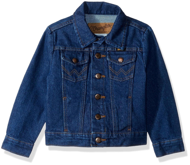 Wrangler Boys Western Denim Jacket 84145PW