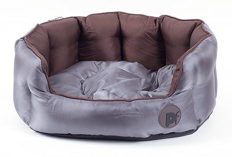 Petface - Cama impermeable de lujo para perros y cachorros, con cojín reversible