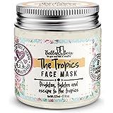 Bella & Bear the tropics face mask, White, 7.7 Ounce