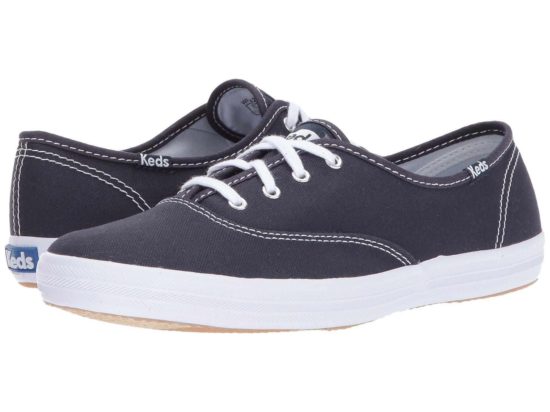 separation shoes ef199 52eea Keds Women's Champion Original Canvas Sneaker (39 M EU/8 B(M) US, Navy)