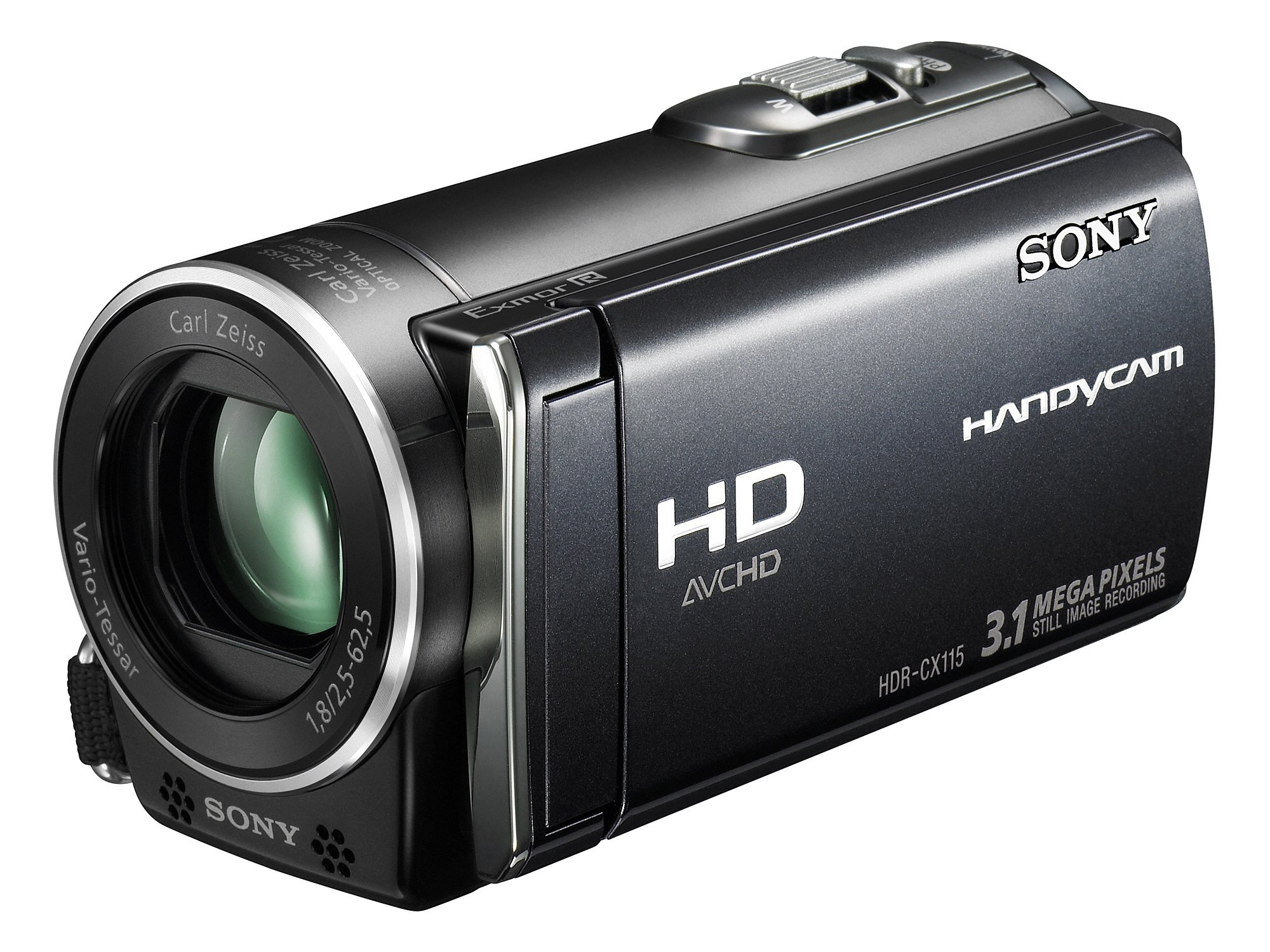 "Sony HDR-CX 115 EB Caméscope Full HD Ecran tactile 2,7"" Noir product image"