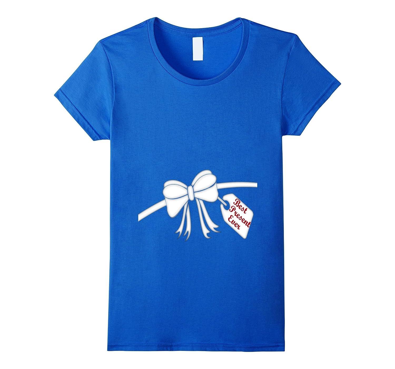Women's Best Present Ever Shirt for Pregnant Mom-Art