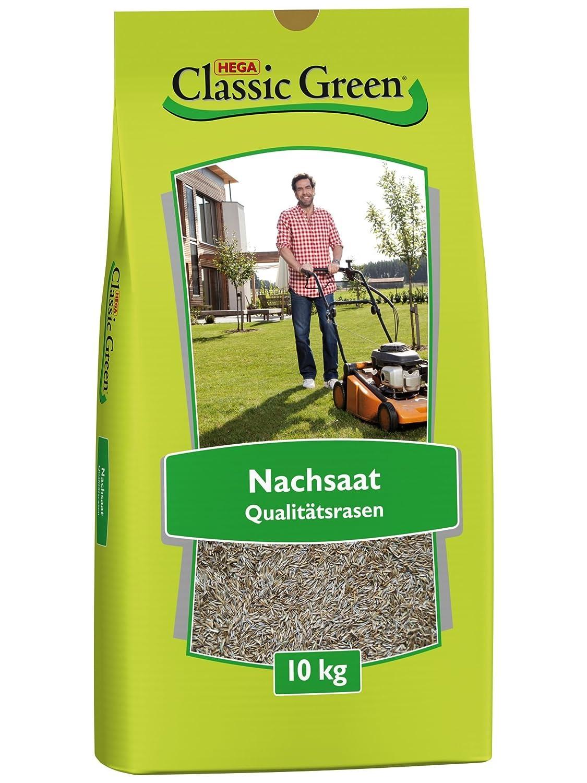 Classic Green Rasensaat Nachsaat - Reparatur| Grassamen | Rasensamen 10kg | Premium Rasensaat | Rasensaat Nachsaat | Rasensaatgut | Rasensaat Reparatur| Regeneration | Reparatur 2080501