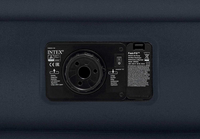 Multicolore Set di 3 Intex 6941057405155 Materasso Durabeam Pillow Rest Deluxe Singolo Bicolor con Tecnologia Fiber 612 99 x 191 x 42 cm