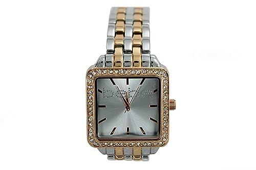 Amazon.com: Bebe Mujer Reloj acero inoxidable oro/plata ...