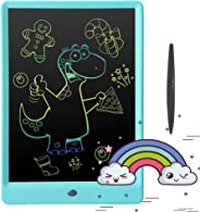 Pilipada LCD Writing Tablet Colorful Drawing Tablet, 10 Inches Light Drawing Board Doodle Pad, Early Educational Writing Boa