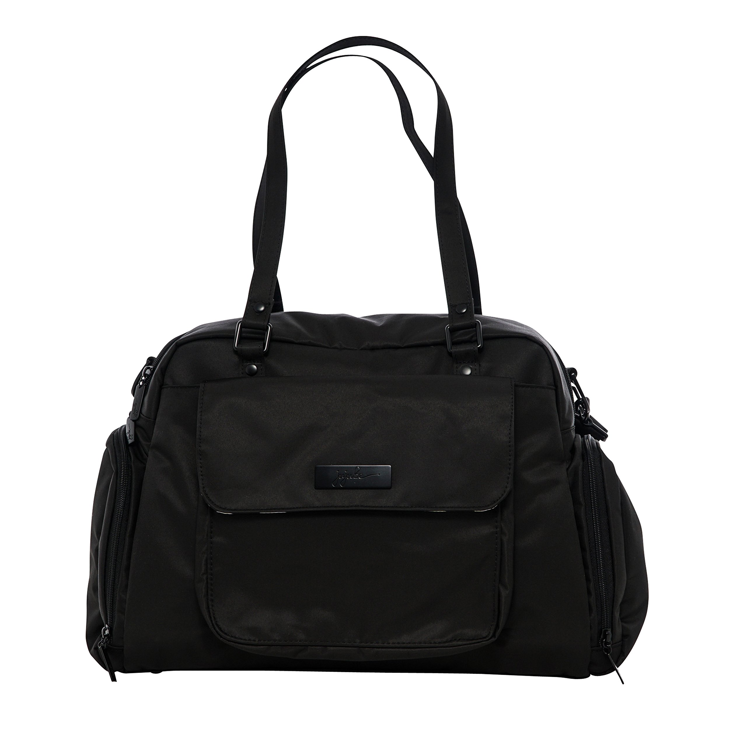 JuJuBe Be Pumped Insulated Breast Pump Bag, Onyx Collection - Black Out