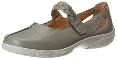 Hotter Damen Tone GTX Oxfords, Grey (Gunmetal), 42 EU