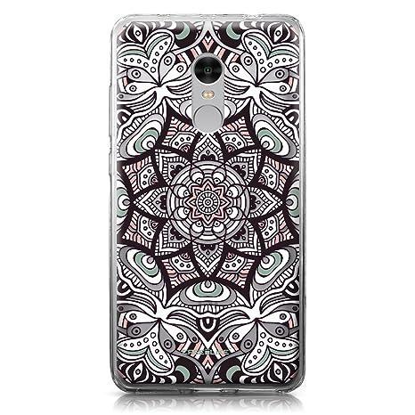 CASEiLIKE Funda Redmi Note 4, Carcasa Xiaomi Redmi Note 4, Arte de la Mandala 2095, TPU Gel Silicone Protectora Cover