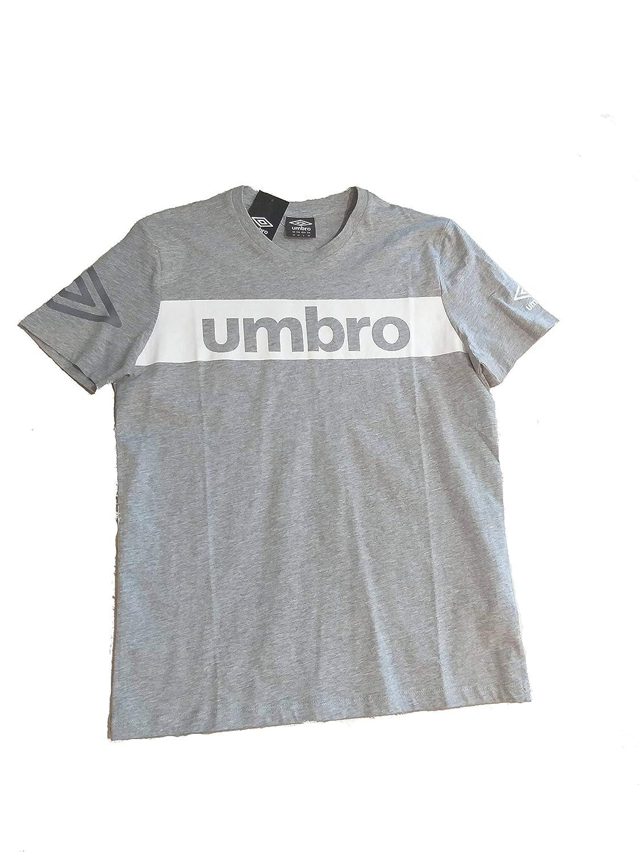 Umbro - Camiseta - para Hombre Gris M: Amazon.es: Ropa y accesorios