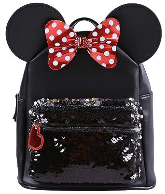 Mochila con lentejuelas Mickey Minnie DISNEY: Amazon.es: Ropa y accesorios