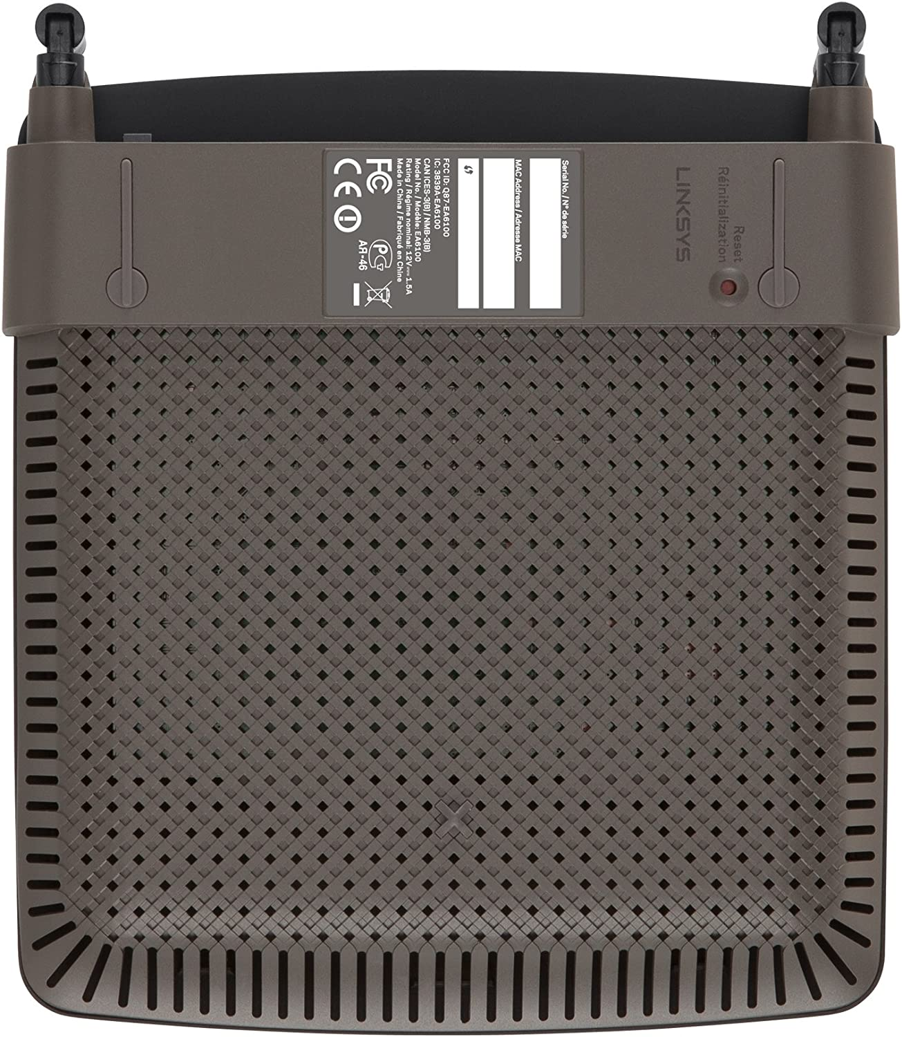 USB 3.0 and Adjustable Antennas Linksys EA6900 Dual Band AC1900 Smart Wi-Fi Router with Gigabit Ethernet
