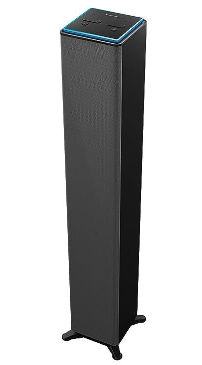 Sharper Image SWF9GY Surround Bluetooth Tower Speaker Set Of 9