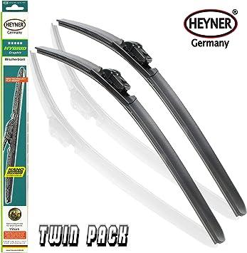 VAUXHALL MOKKA Windscreen Wiper Blades x 2 Front Set Fits to REG    2013 to 2016