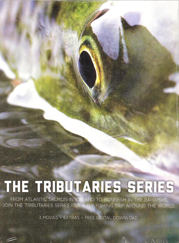 3 Movies Tributaries Series Yow Breathe Fly Fishing Film NEW Tributaries