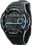 Sonata Super Fibre Digital Grey Dial Men's Watch - NF7949PP05J