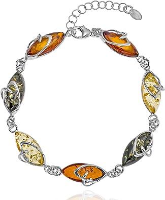 bracelet femme ambre
