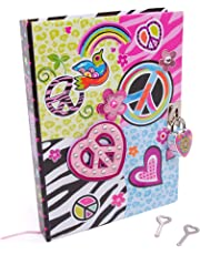 Hot Focus 250 PEPeace Diary with Lock and Keys