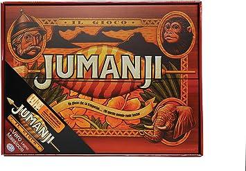 Spin Master Copia de madera maciza del juego jumanji (versión italiana): Amazon.es: Juguetes y juegos