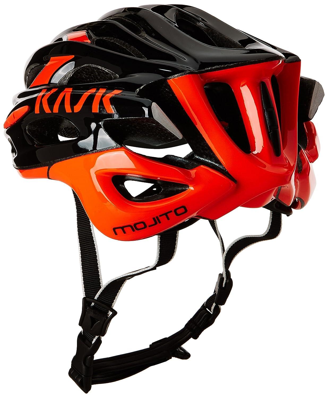 Kask - Mojito 16 - Casco para bicicleta, Adultos , Negro/Naranja, M (52-58 cm): Amazon.es: Deportes y aire libre