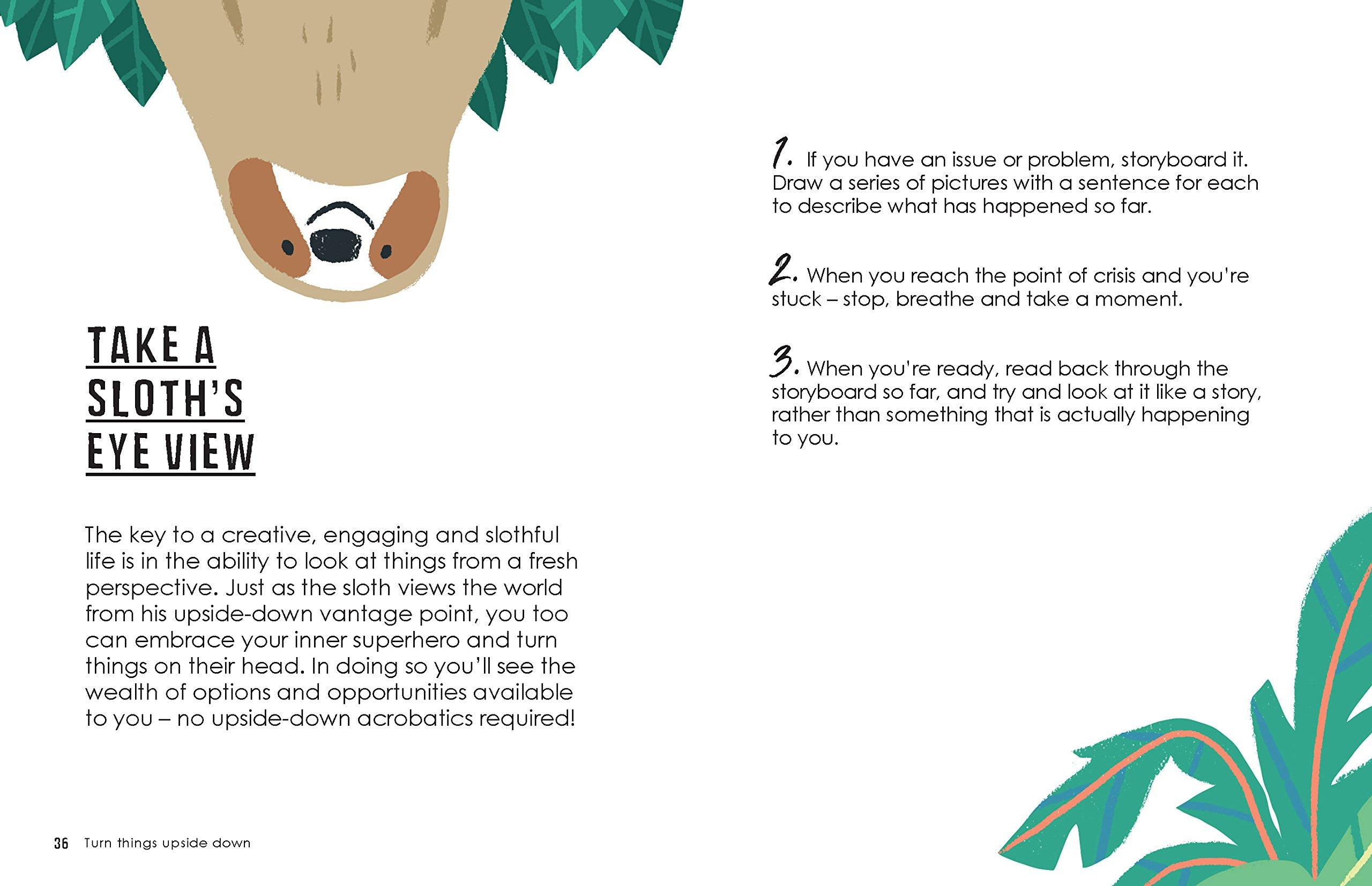 2278feedb Be More Sloth: Get the Hang of Living Life in the Slow Lane: Alison Davies,  Carolina Buzio: 9781787132276: Amazon.com: Books