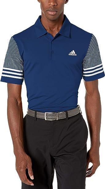 adidas Men's Ultimate Sleeve Gradient Polo