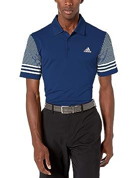 adidas Ultimate Sleeve Gradient Polo, Azul Marino, Medium para ...