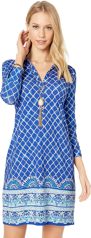 bluee Gredto Tide Up Engineered Dress Lilly Pulitzer Women's UPF + Ansley Polo Dress
