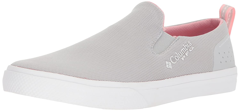Columbia PFG Women's Dorado Slip PFG Sneaker B07895R7FD 5.5 B(M) US|Grey Ice, Rosewater