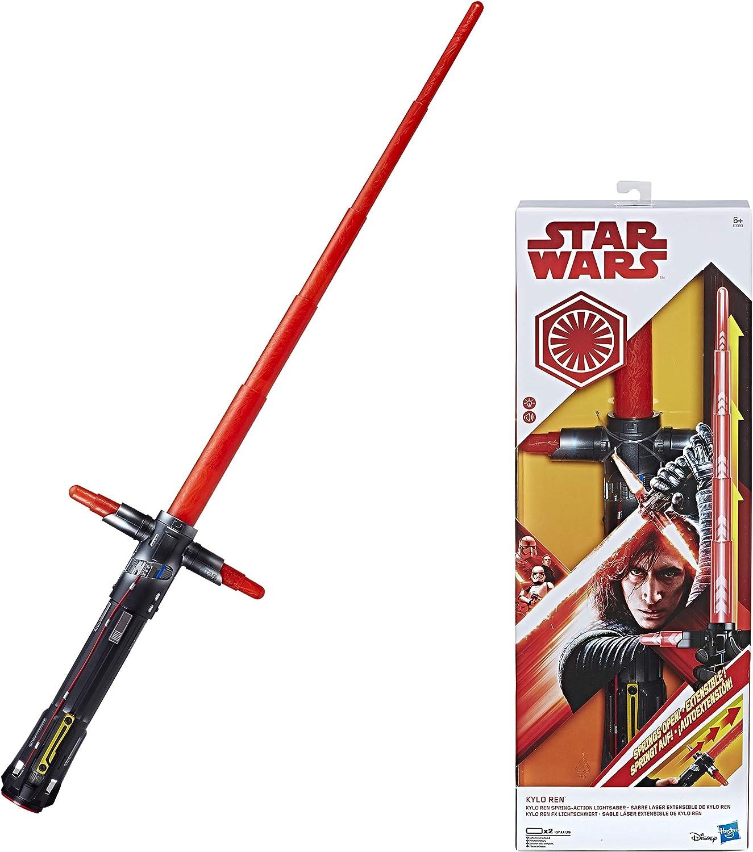 /& Soundeffekten Hasbro Star Wars Rogue One Wirbel-Action Lichtschwert mit Licht