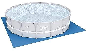 Bestway 58251 - Tela para el Suelo para Piscina Steel Pro de 488 cm