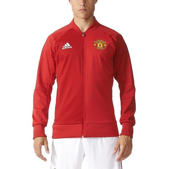 adidas de Hombre Manchester United Anthem Chaqueta de chándal ...