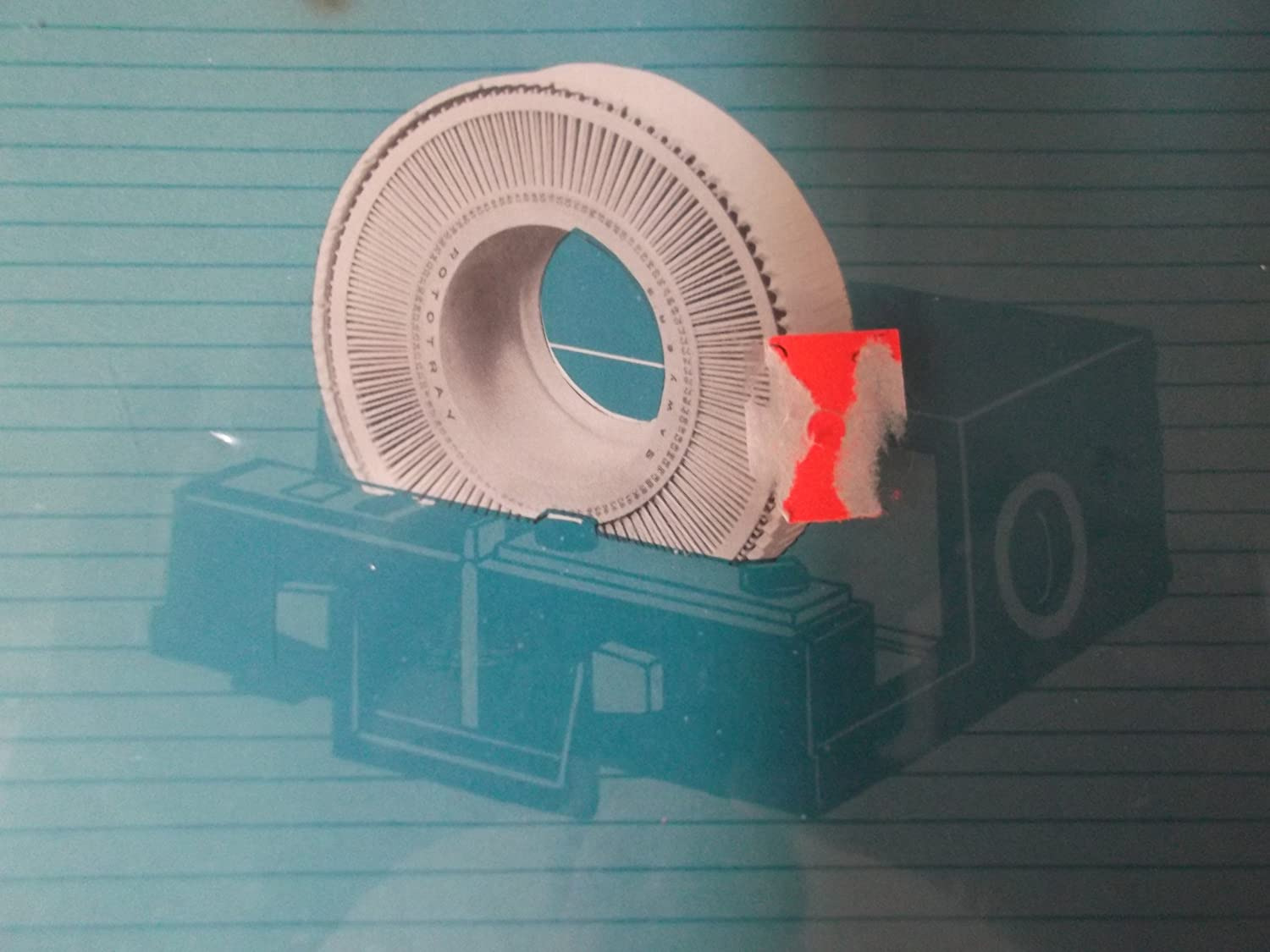 Vintage Kmart Projector Focal Rotary Tray; Holds 100 2x2 Slides