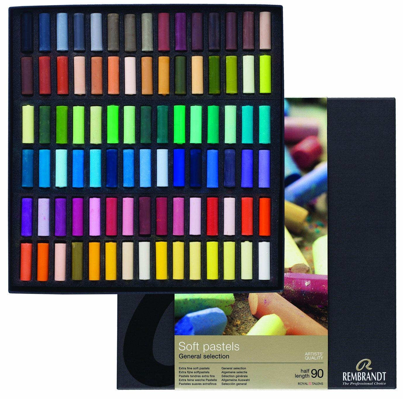 Sconosciuto Rembrandt Soft Pastels 90Half Stick General Set Canson Inc. 100515685