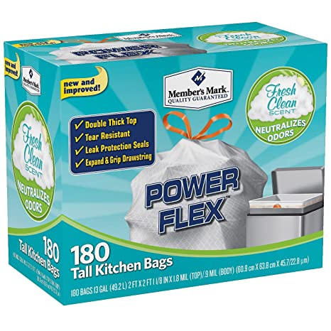 Amazon.com: Marca del Miembro Power Flex Tall Cocina Simple ...