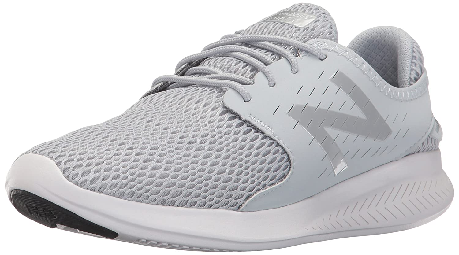 New Balance Women's Coast V3 Running-Shoes B01N77Y1CJ 11 B(M) US|Light Grey