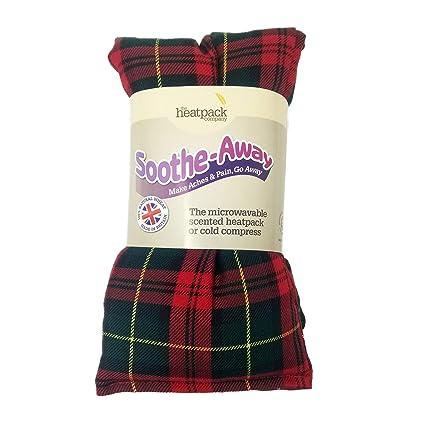 Microondas bolsa de trigo, diseño de tartán - con aroma de ...