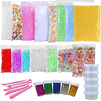 Kit De Fabrication De Balles En Mousse Slime Coloré Balles En