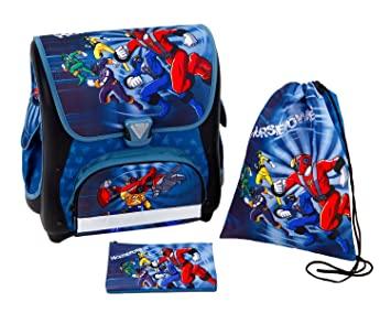 undercover cartable power rangers multicolore pr10847