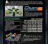 Kungfu Graphics Kawasaki Logo Custom Decal Kit for