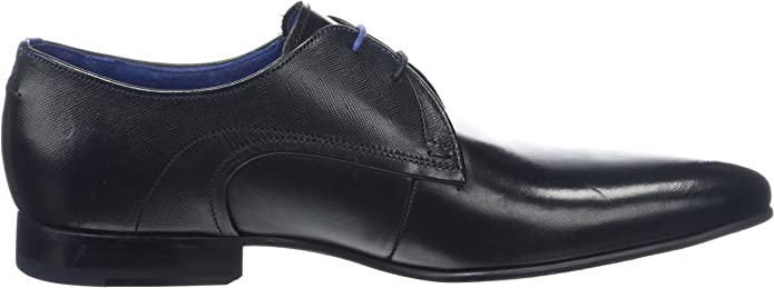 Ted Baker Mens Peair Leather Lace Up Formal Shoe Black