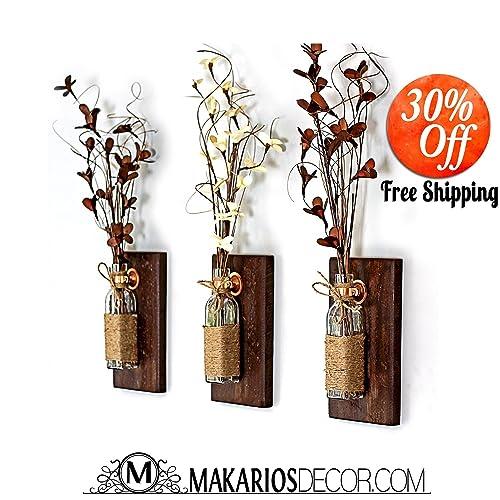 Amazon Bottle Wall Vase Flower Vase Home Decor Housewares
