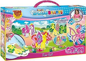 CRAZE fusibles Fuse Beads Splash BEADYS Sistema de la diversión GALUPY Caballo Craft Kit de Cuentas para niños 12253, Multicolor: Amazon.es: Juguetes y juegos