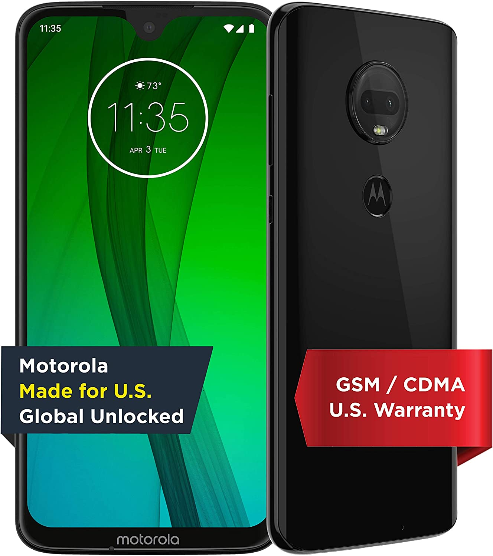 Moto G7   Unlocked   Made for US by Motorola   4/64GB   12MP Camera   Black
